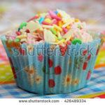 Foto van een cupcake van Frederique Richard voor Shutterstock